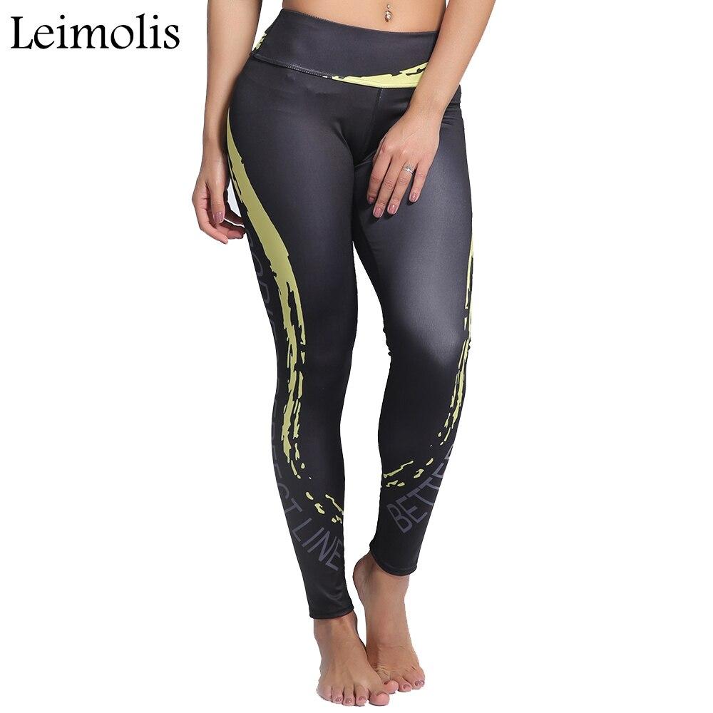 Leimolis 3D print Flame surge winter Harajuku High Waist workout push up plus size fitness leggings women pants