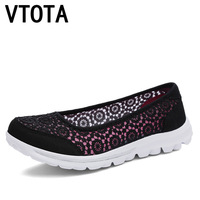 VTOTA Women Flats Shoes 2017 Comfortable Flat Air Mesh Spring Summer Shoes Female Zapatos De Mujer