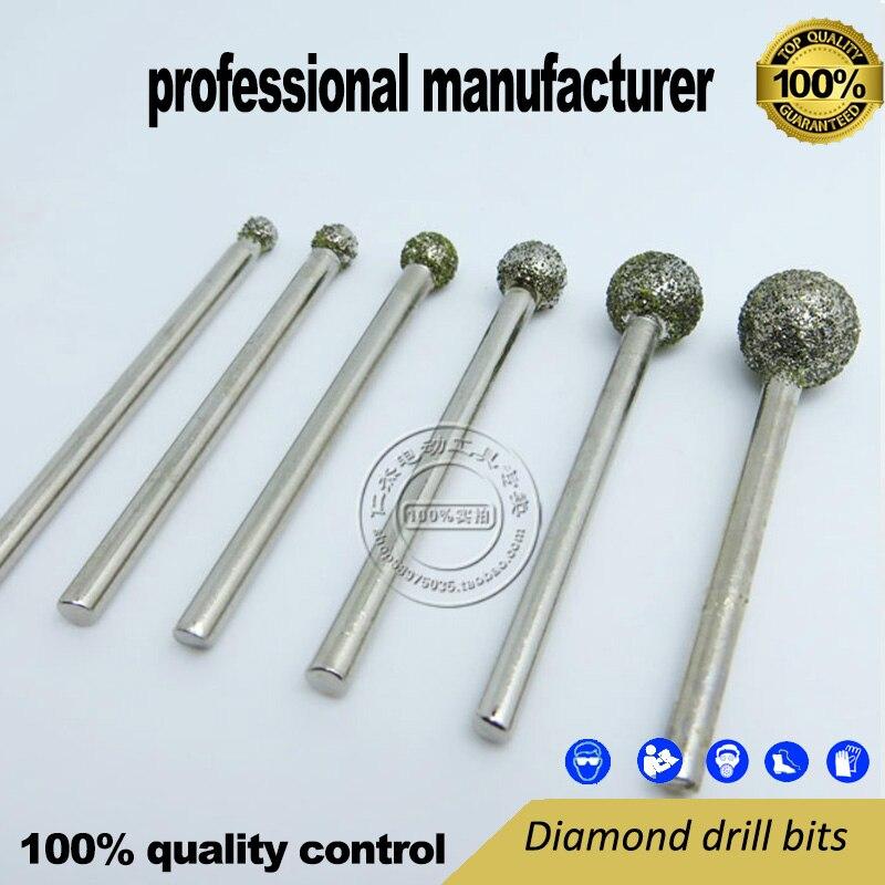 mini teemanttööriistade tööriistad 6tk lihvkomplekt, mis on - Abrasiivtööriistad - Foto 2
