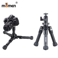 Mamen Professional Foldable Camera Tripod Stand For SLR DSLR Camera Portable Mini Tripod Macro Photography Lighting Tripod