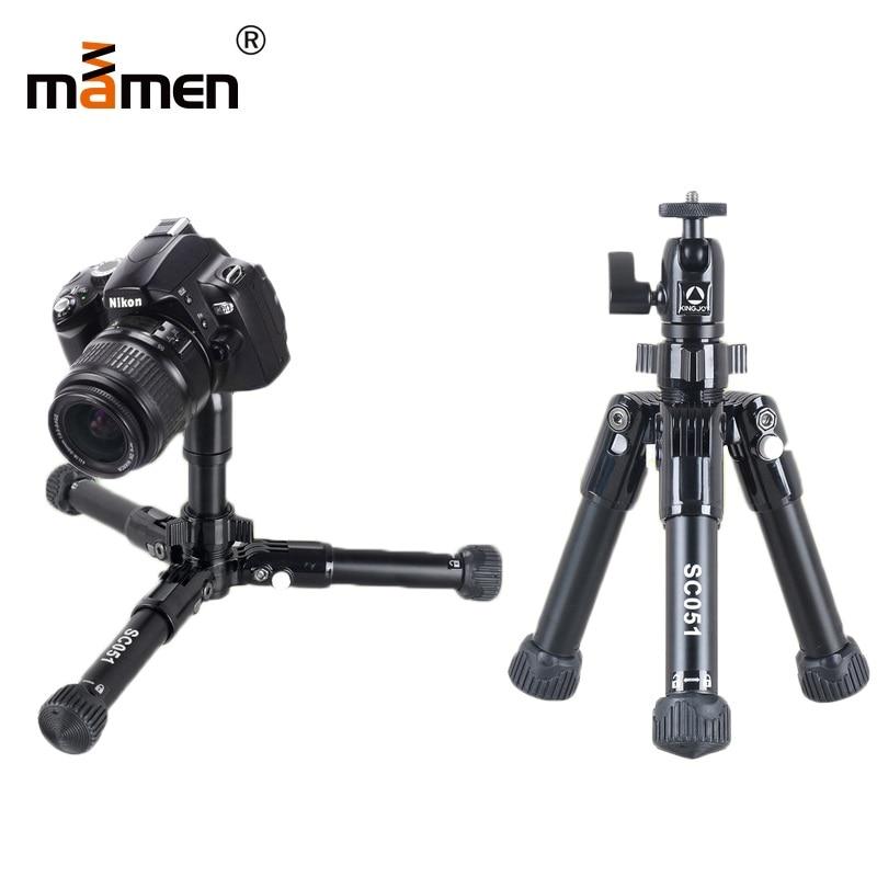 все цены на Mamen Tripod Professional Portable Mini Tripod Foldable Travel Macro Shooting Photography Lighting Vedio SLR DSLR Camera Tripod