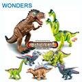 Электрический Динозавров кора Игрушки Интерактивные Игрушки Ходить Brinquedos Wyvern hadrosaur Стегозавр tyrannosaurus всегда для вас