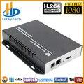URay H264/H.264/H 264 HDMI codificador HDMI IP Video Streaming decodificador codificador RTMP UDP su RTSP para IPTV y transmisión en directo