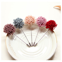 New Design Flower Handmade Brooch Suit Shirt Lapel Pin Badges Wedding Badges Bijoux Brooch For Women Men Fashion Jewlery Gifts