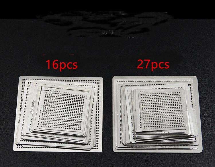 BGA directement des pochoirs universels de reballage de chaleur avec gabarit pour SMT SMD puce de retravail Rpair
