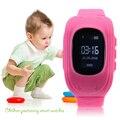 Q50 смарт gps положение анти-потеря часы для детей Малыш резиновый ремешок наручные часы браслет электронные часы для Android для IOS