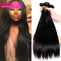 Mario Hair Products Grade 7A Brazilian Virgin Hair Straight 4 Bundles Brazilian Hair Weave Deals 400g Brazillian Human Hair Weft