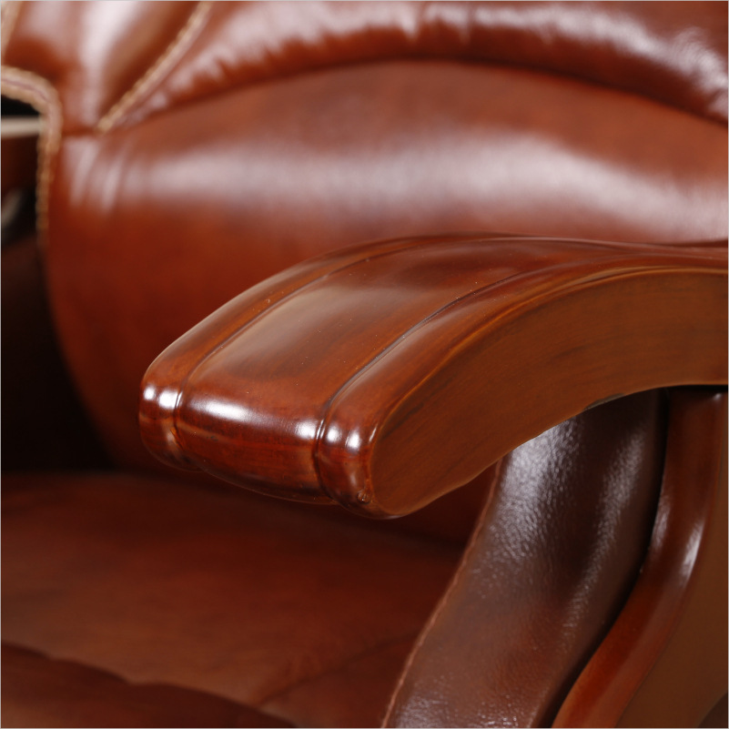 luxury office chairs leather. interesting leather niumai boss chair leather reclining luxury massage wood  feet first layer of office and luxury office chairs leather t