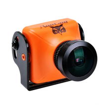 RunCam OWL PLUS 700TVL 0.0001 LUX FPV Camera FOV 150 Degree Wide Angle F2.0 Lens IR Blocked 5-22V (Orange) (PAL)(NTSC)