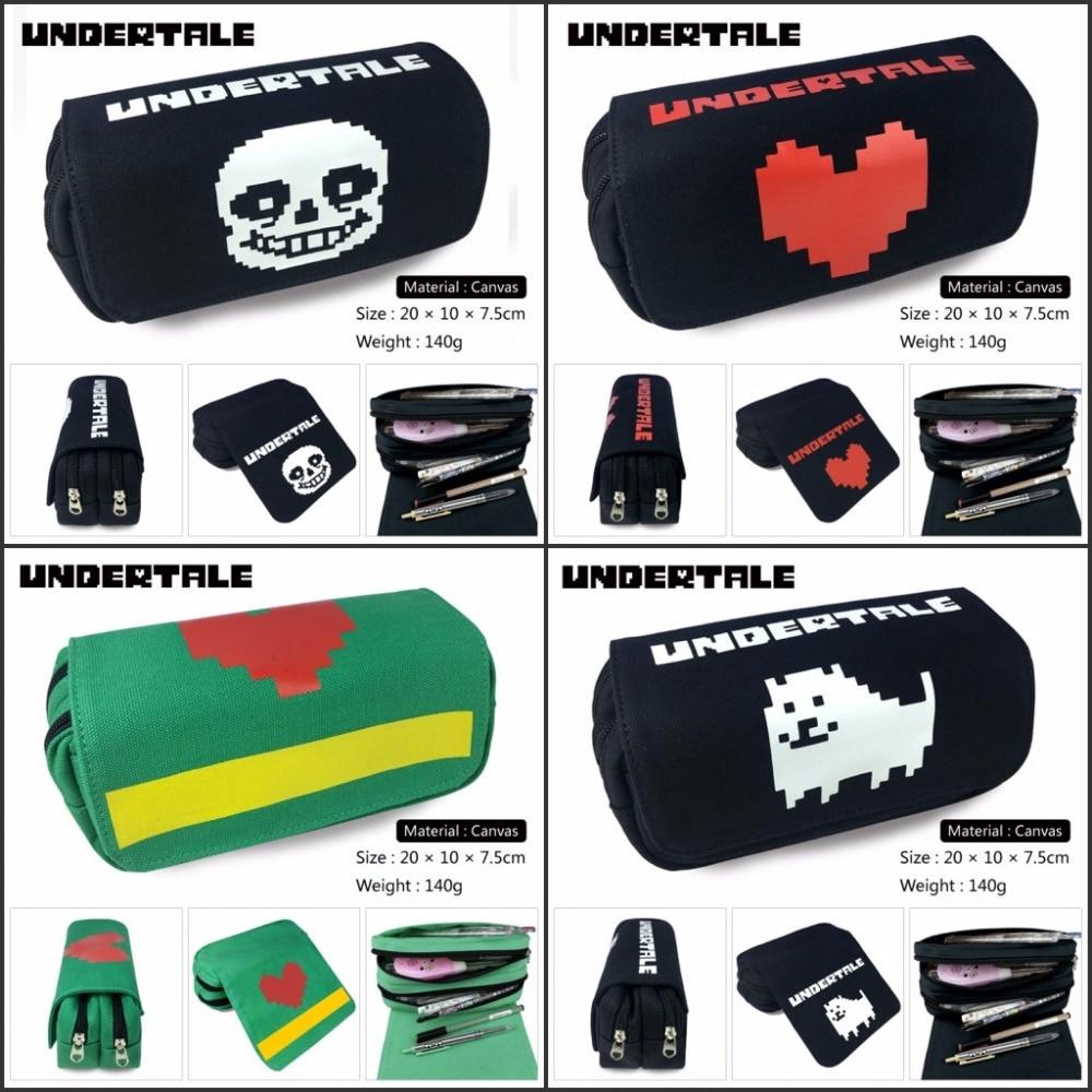 Purse-Bag Wallet-Case Pencil Undertale Cosplay Anime Handbags Zipper Gift Papyrus Otaku