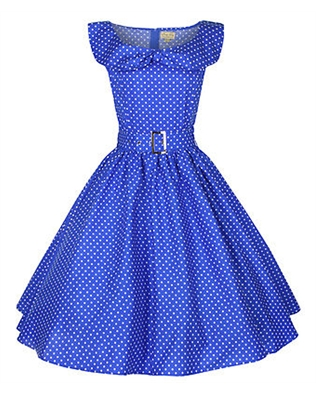 Hepburn Style 1950 s Rockabilly Swing Evening Pinup Prom Retro Dress