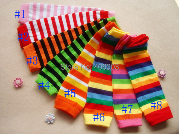 Cheap Kids Baby Toddler Knee Pad Children Leg Warmers Christmas Free shipping