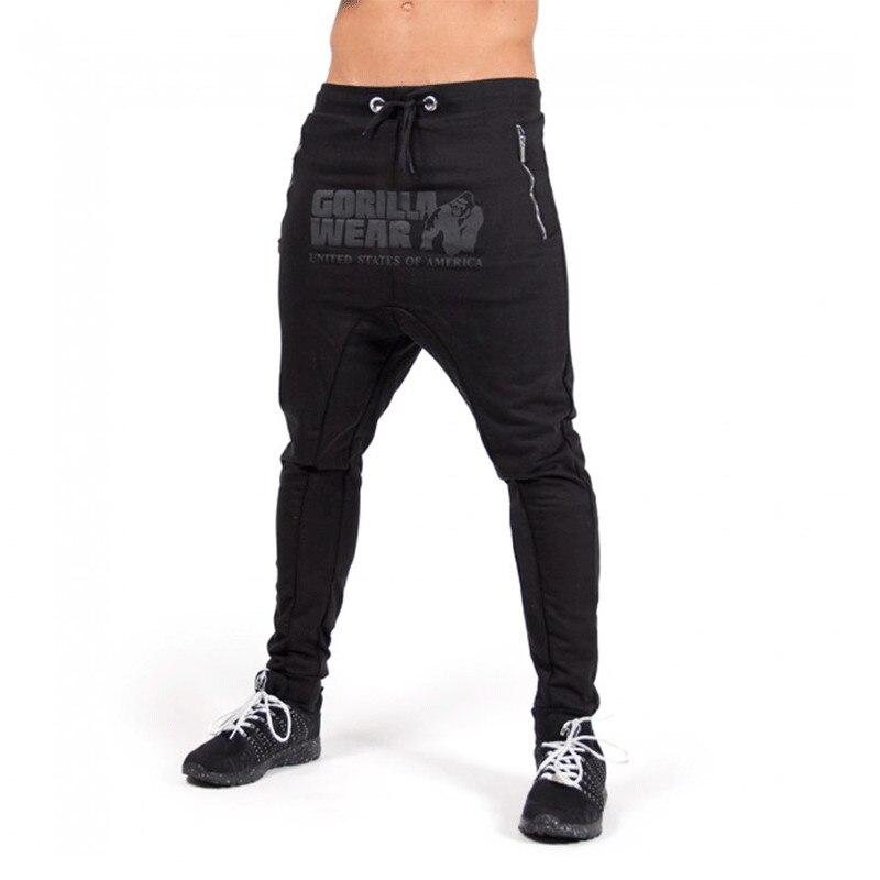 2018 Casual Männer Hosen Heißer Verkauf Zipper Tasche Hip Hop Harem Hosen Fitness Kleidung Qualität Outwear Casual Männer Jogger Hosen HeißEr Verkauf 50-70% Rabatt