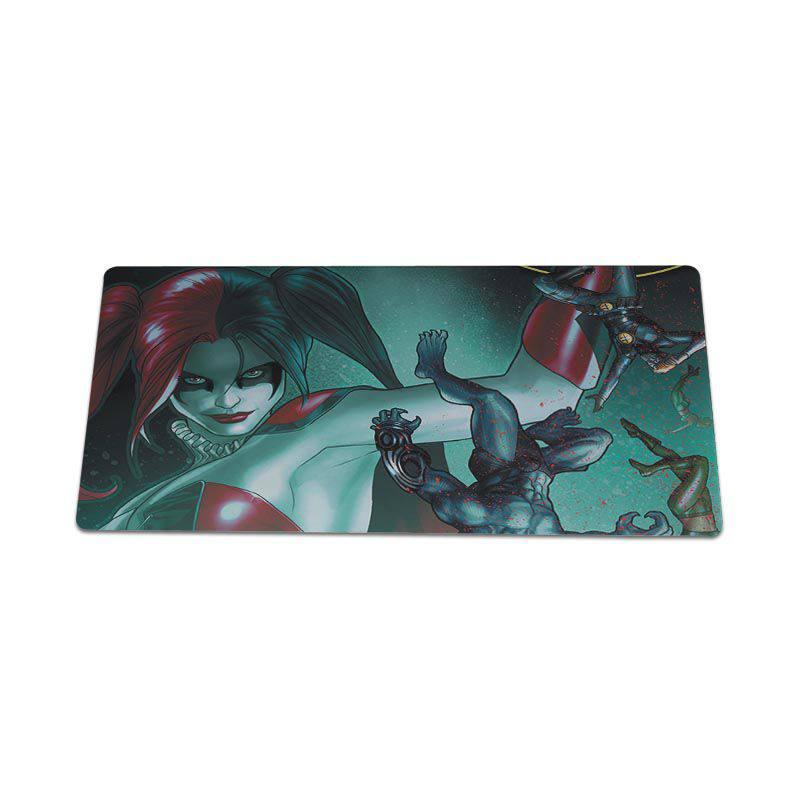 Yinuoda Hot Sales Anime Batman and Harley Quinn Laptop Computer Mousepad Size for 18x22cm 20x25cm 25x29cm 30x60cm