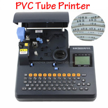 цена на PVC Tube Printer Shrinkable Tube Electronic Lettering Machine Shrinkable Cable ID Printer Wire Marking Press Machine S-650