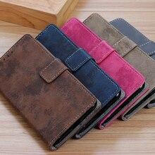 Etui portefeuille pour OnePlus 7 Flip étui portefeuille en cuir magnétique Vintage pour One Plus 7 6 6 T 5 5 T