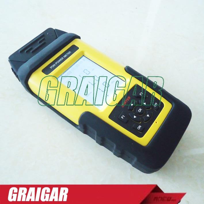 ST805C optische PON power meter met oplaadbare batterij voor Netwerk Bouw