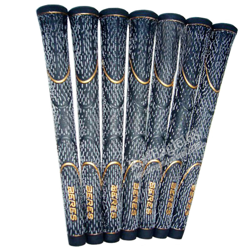 Cooyute Hot sale New Golf grips Carbon yarn Golf wood grips black colors in choice 30pcs/lot irons clubs grips Free shipping