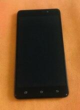 בשימוש המקורי LCD תצוגת מסך + מסך מגע + מסגרת עבור UHANS הערה 4 MTK6737 Quad Core משלוח חינם