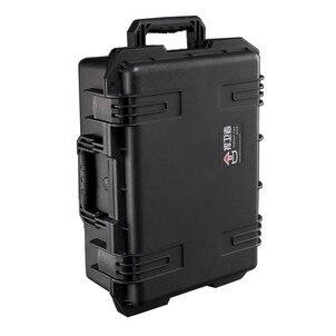digital camera bag dslr camera bag safety box belt sponge sealed box abs case protection box Adearstudio CD50