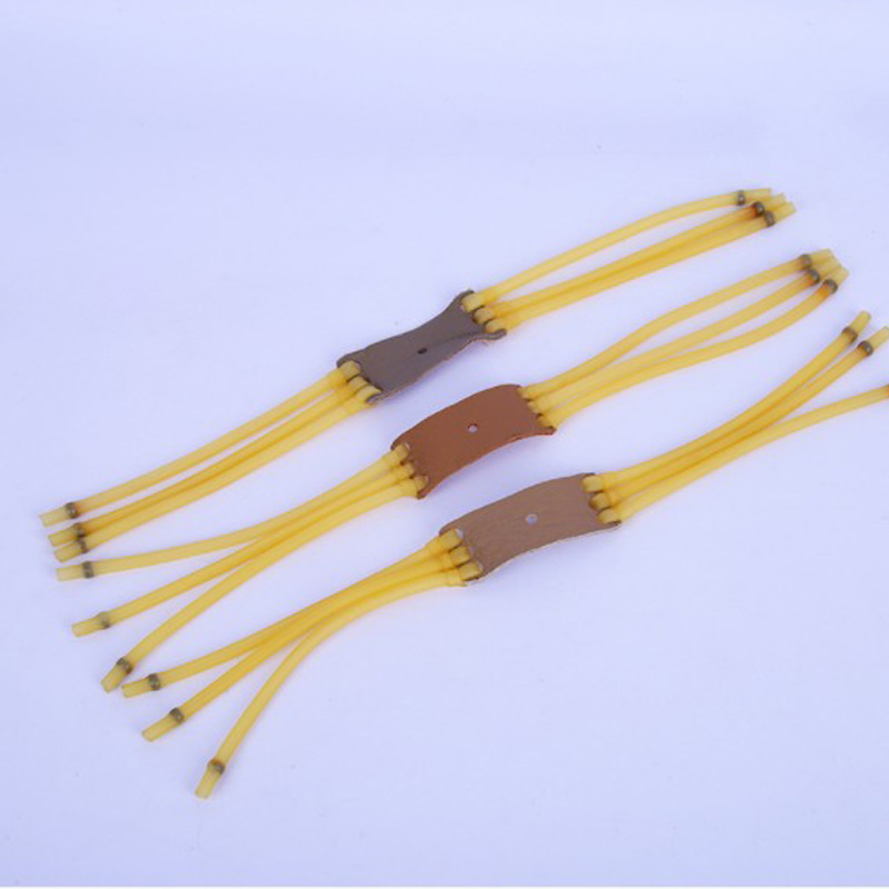 3pcs 3050 Six Strips Rubber Band Elastica Bungee Catapult For Hunting Slingshot