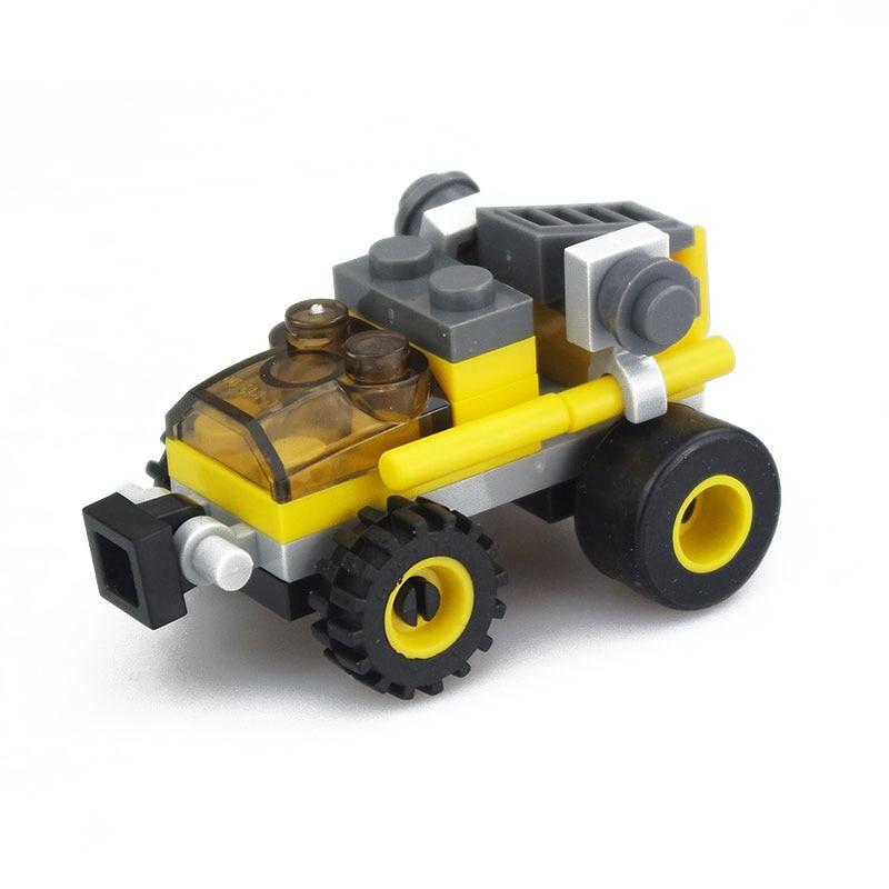 1 Set Bouw Speelgoed Truck Model Building Kits Educatief Speelgoed Hobby Voor Kinderen Kleuterschool Geschenken