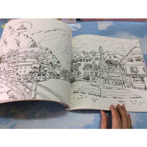 Image 5 - 84 Pages My soul Travel coloring Book Secret Garden Style Coloring Books Relieve Stress Kill Time Graffiti Painting Drawing Book