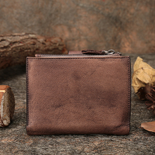 2017 Women Wallets Handmade Gneuine Leather Purse Clutch Bags Hasp Shourt Style Wallet Card Holder цена в Москве и Питере