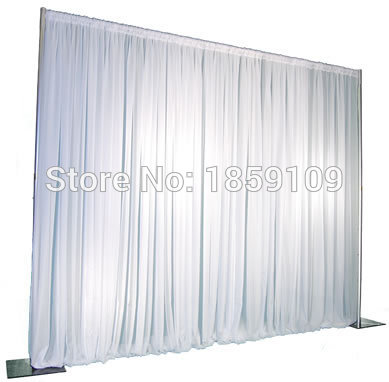 3m Wedding Drapery Pipe Stand Decor Piping Frame For Drape Stainess