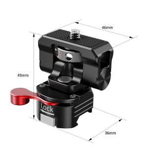 Image 4 - SmallRig Universal Swivel and Tilt Monitor Mount with Nato Clamp For SmallHD/Atomos/Blackmagic Monitor/Screen/EVF Mount  2347