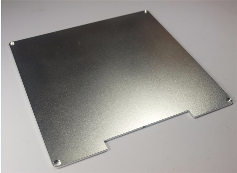 Reprap Prusa i3 3D printer parts Anodized Aluminum BUILD PLATE for Heated Bed 3D Printer RepRap Prusa Maker