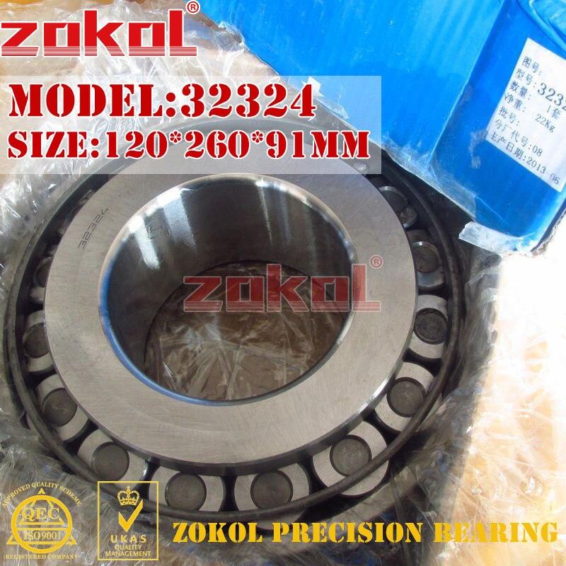 ZOKOL bearing 32324 7624E Tapered Roller Bearing 120*260*91mm bearing 000506