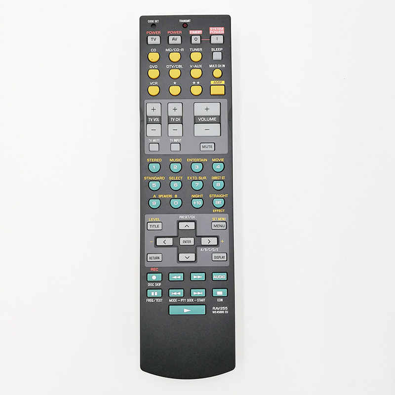 New Original Remote Control for yamaha RX-V550 YHT-450 YHT-750 YHT-755 HTR-5860 RX-V657 AV power amplifier new remote control fit for yamaha wn058100 htr 6130 rx v363bl rav283 a v av receiver remote control