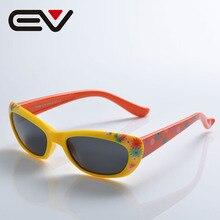 EV Brand Baby Boy Girls Kids Sunglasses TR90 Polarized Children Sunglasses Top Quality Fashion Glasses Oculos De Sol EV1206
