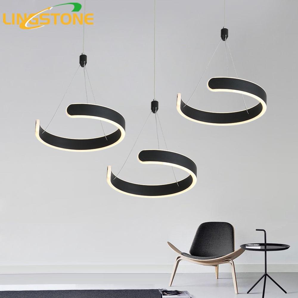 Led Pendelleuchte Moderne Hanglamp Fernbedienung Küche Beleuchtung ...