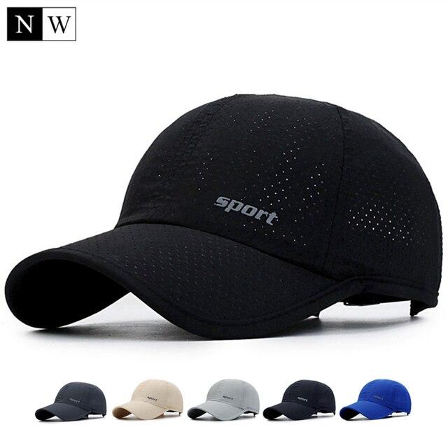 NORTHWOOD  2017 Summer Baseball Cap With Mesh Snapback Hat Solid Bone Trucker  Cap Sun Baseball Hat Peaked Dad Cap For Adult 005fe52bb597