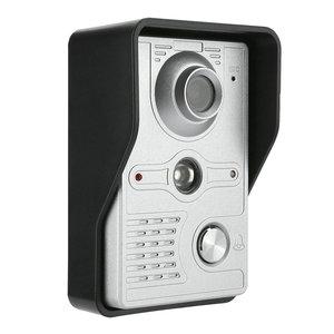 MOUNTAINONE 7-дюймовый ЖК-видео дверной звонок домофон комплект 2-камера 1-монитор ночного видения с IR-CUT HD 700TVL камера