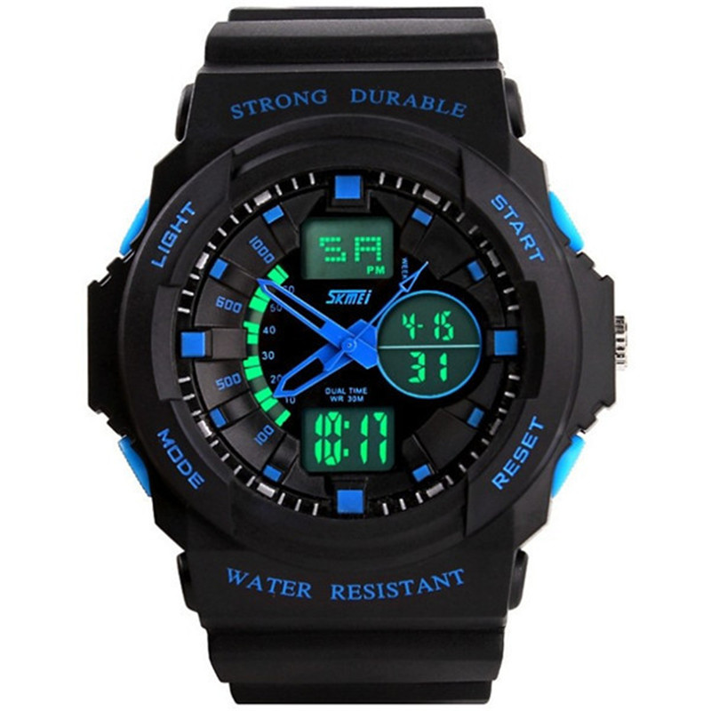 SKMEI Top Men Sports Watches Men Luxury Brand Fashion Casual Quartz Military Digital Watch Male Wristwatches Relogios Masculinos