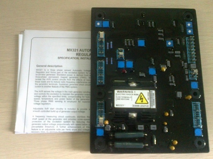 Brushless alternator voltage regulator MX321 AVR high quality spare part
