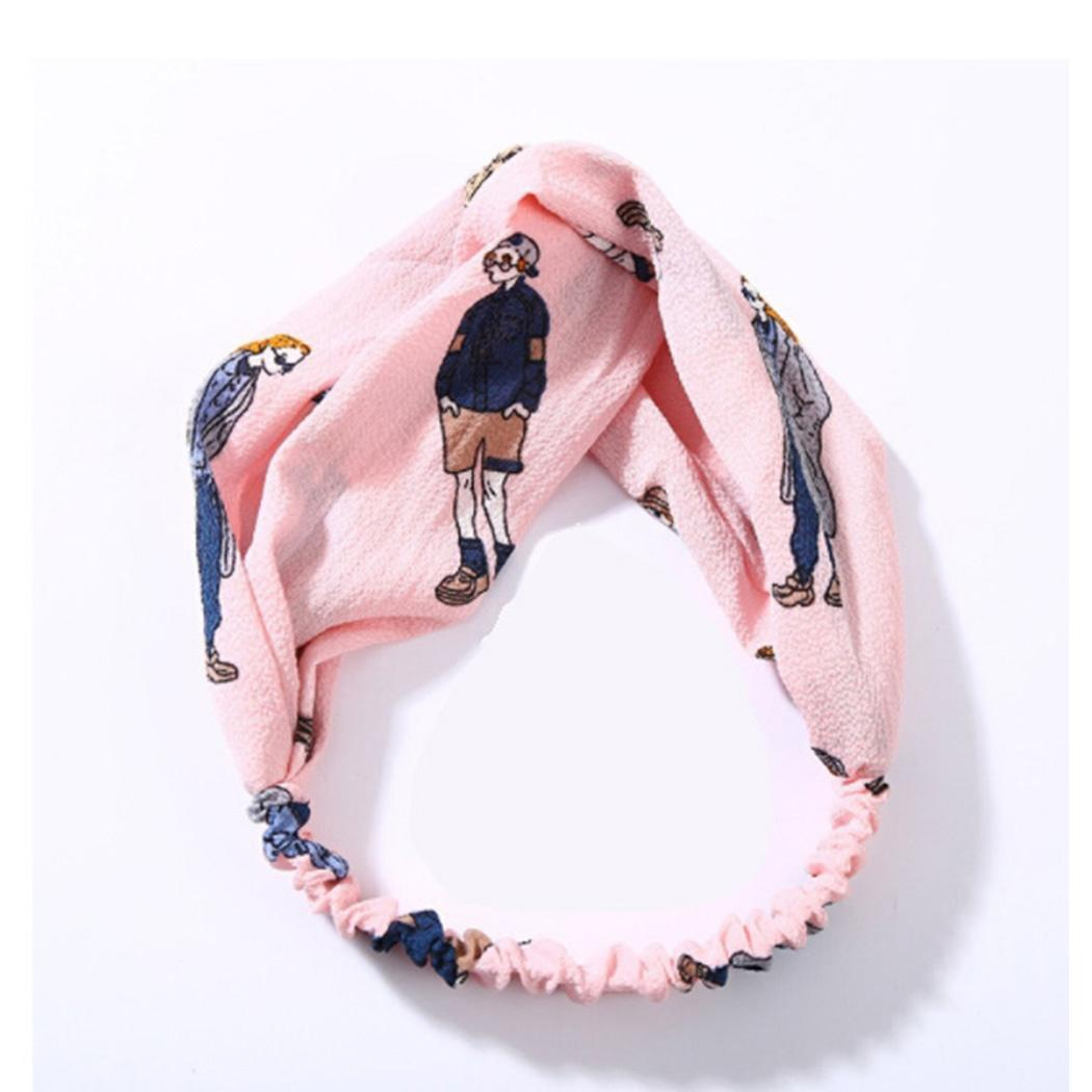 Women Retro Literary Figures Wash Makeup Tied Hair Temperament Hair Band Casual Character 15g 55 0cm 21 7inch Men's Headbands Apparel Accessories