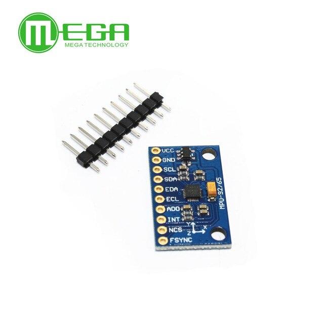 US $3 15  1Set SPI IIC/I2C GY 9250 MPU 9250 MPU 9250 9 Axis Attitude  +Gyro+Accelerator+Magnetometer Sensor Board Module MPU9250 3 5V Power-in