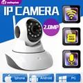 2MP HD 1080 P PTZ Câmera IP Wifi IR-Cut Night Vision Two Way Áudio Vigilância CCTV Câmera Cartão SD Onvif P2P Vista Inteligente XMEye