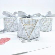 25PC Candy Party Präsentieren Boite Dragees hochzeitsfest-baby-duschen-box Blume Zucker Boxen Geschenk Box Verpackung Süße Hochzeit Favor Boxen Für Kuchen