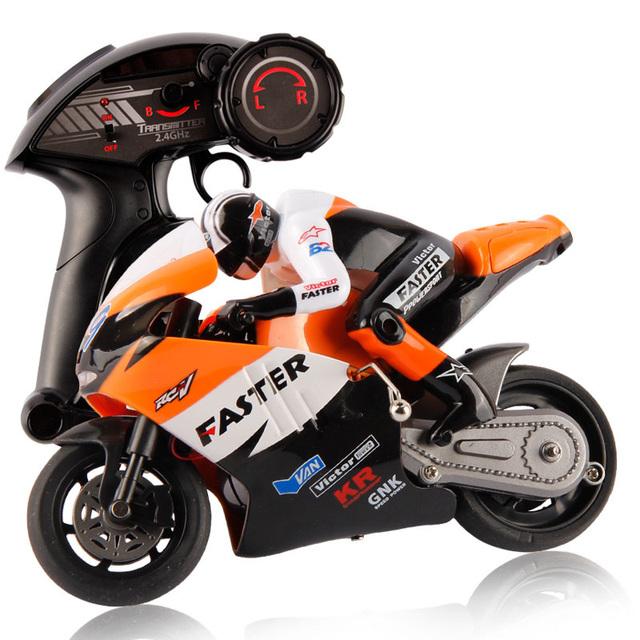 Original JXD 806 Remote Control RC Motorcycle 1:10 Scale 2.4Ghz 4 Channel for Children Built-in Gyroscope Kids Boy Toy Gift