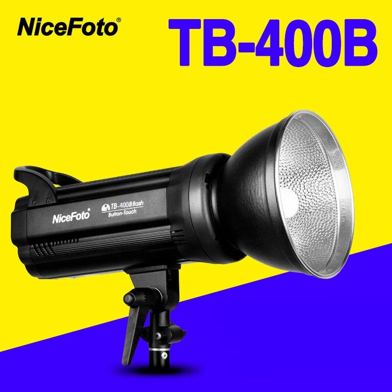 NiceFoto TB-600B 600W  Studio Flash fast recycling time TB 600B Studio profession photography studio light lamp touch button