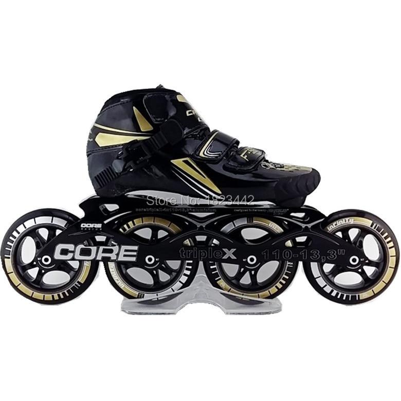 CARLChampion HAIPU inline skating font b shoes b font Professional adult child speed skates skating font