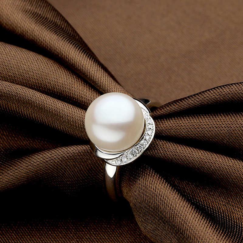 Sinya 925 sterling silver bạc ngọc trai vòng với AAAAA ngọc trai đường kính 10-11mm cho phụ nữ cô gái mẹ 2017 new arrival cần bán hot