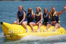 water sports inflatable banana boat ride for 3 persons , free shipping with DHL/FEDEX, free blower (CE/UL)