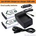 Caliente de la batería 2x1600 mah batería npbx1 np-bx1 np bx1 eur + cable cargador para sony cámara hdr-as100v as30v hx50 dsc-rx100 hx400 wx350