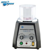 KT 100 Rotary Magnetic Polishing Machine Remove Metal Edge Burrs Clean Surface Stains and Rust 220V/110V